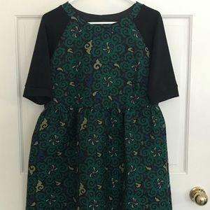ASOS brocade / jacquard dress